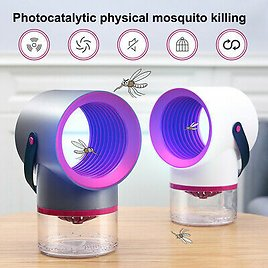 Electric Mosquito Insect Killer LED Light Fly Bug Zapper Trap Lamp Pest Control
