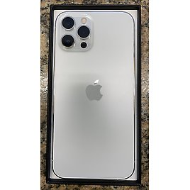 Apple IPhone 12 Pro Max - 256GB - Silver (Unlocked) BRAND NEW NEVER ACTIVATED