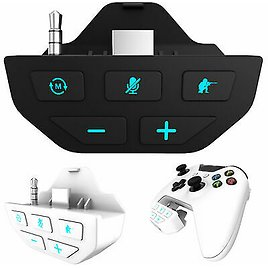 For Xbox One Wireless Gamepad Controller Sound Enhancer Stereo Headset Adapter