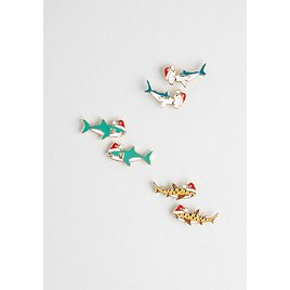 Surf's Up Sleigh Ride Stud Earring Set