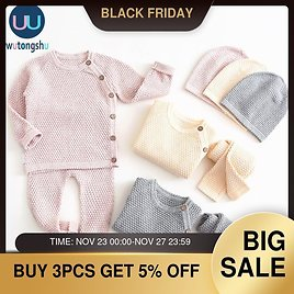 US $13.26 31% OFF|Baby Boy Girl Clothes Sets Autumn Winter Solid Newborn Baby Girl Clothing Long Sleeve Tops + Pants Outfits Casual Baby Pajamas|Clothing Sets| - AliExpress