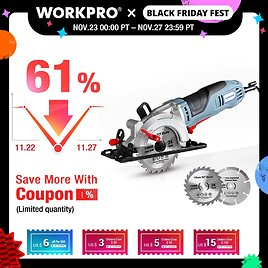 US $59.22 53% OFF|WORKPRO Electric Mini Circular Saw 710W Multifunctional Electric Saw With TCT Blade and Diamond Blade Sawing Machine Power Tools|Electric Saws| - AliExpress