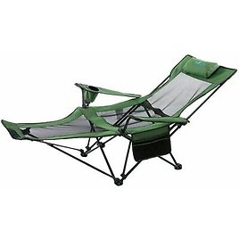 Fishing Outdoor Folding Chairs Steel Pipe Thick Oxford Mesh Portable Seat Stools