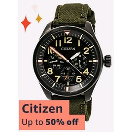 Up to 50% Off On Citizen