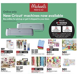 Michaels Weekly Ad & More!