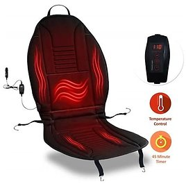 Zone Tech Heated Car Seat Cushion Cover - $14.99 - Free Shipping for Prime Members