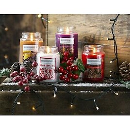 5oz Scented Candle Glass Jar Assorted Scents Fragrance Home Gift Christmas Xmas
