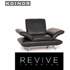 Koinor Rossini Leather Armchair Anthracite Grey Function #15043
