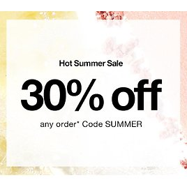 Extra 30% off ANY order +2 Free Gift W/ Purchase