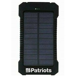 Genuine 4Patriots Patriot Power Cell Solar Phone Charger USB Power Bank * New!!!