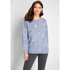 A Rising Star Textured Sweater