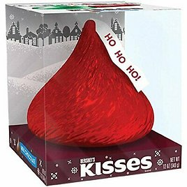 GIANT Hershey's Kisses Milk Chocolate 12 Oz Holiday Christmas Gift NEW EXPEDITED