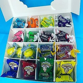 American Sweets Pick N Mix Gift Box Personalised USA Candy Hamper Birthday Treat