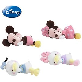 US $2.82 53% OFF|Genuine Disney Mickey Mouse Minnie Donald Duck Daisy Sleeping Prone Position Plush Doll Keychain Pendant Toy For Girl|Movies & TV| - AliExpress