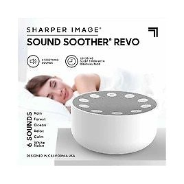 Sharper Image Sleep Therapy Sound Soother 4 Inch