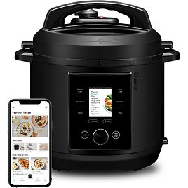 CHEF IQ 6QT Multi-Functional Smart Pressure Cooker, Pairs with App Via WiFi for Meals in An Instant, Built-In Scale & Auto Steam