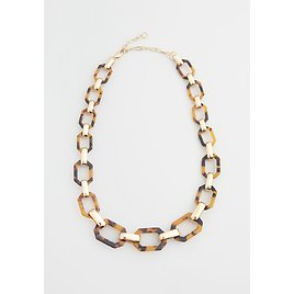 The Chicest Link Statement Necklace