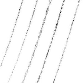 Details About Fashion DIY Jewelry Snake Chain Accessories 925 Silver Women Chokers Necklace