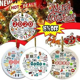 🎄2020 Annual Events Christmas Ornament🎄Hot Sale!