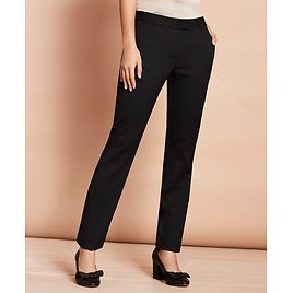 Stretch-Wool Tapered Trousers - Brooks Brothers