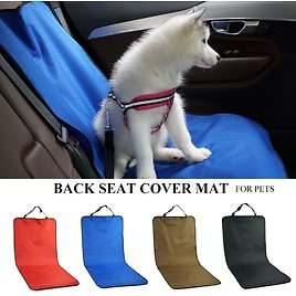 US $6.97 69% OFF|Car Waterproof Back Seat Pet Cover Protector Mat Rear Safety Travel Accessories for Cat Dog Pet Carrier Car Rear Back Seat Mat|Dog Carriers| - AliExpress