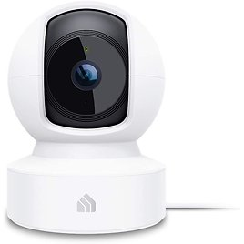 Kasa Smart Indoor Pan/Tilt Home Camera, 1080p HD Security Camera Wireless 2.4GHz with Night Vision, Motion Detection for Baby Monitor, Cloud & SD Card Storage, Works with Alexa & Google Home EC70