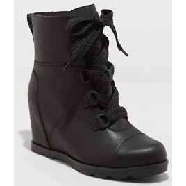 Women's Katherine Lace-Up Wedge Fashion Boots - Universal Thread™