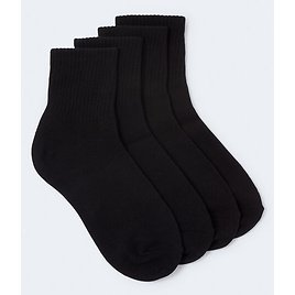 Solid Crew Sock 2-Pack