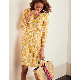 Kelsey Linen Tunic - Ivory, Tropical Stamp | Boden US