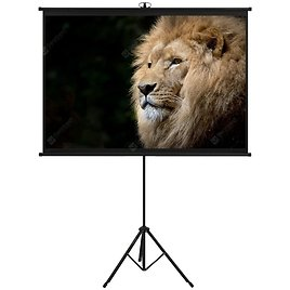 Projection Screen with Height AdjustableTripod 1/1 Sale, Price & Reviews | Gearbest