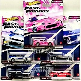 HOT WHEELS 2020 FAST & FURIOUS QUICK SHIFTERS SET OF 5 CAR CASE J IN STOCK