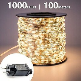 LED String Lights Street Fairy Light Waterproof for Outdoor Christmas Decoration