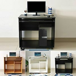 Home Office Desk Computer Table Laptop PC Study Writing Furniture Workstation UK