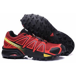 NEW Men's Salomon Speed Cross 4 Athletic Running Sports Outdoor Hiking Shoes 010