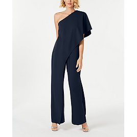 Adrianna Papell One-Shoulder Jumpsuit for Women