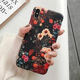 Tiny Little Floral Case For IPhone XR XS Max X 6 6S 7 8 Plus Cute Back Cover Art