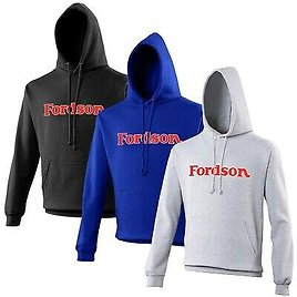 Fordson Tractor Hoodie VARIOUS SIZES & COLOURS Tractor Enthusiast Farming