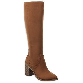 Time and Tru Women'€™s Knee-High Heeled Boots