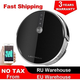 US $208.21 53% OFF 2020 Smartest LIECTROUX Robot Vacuum Cleaner C30B, 4000Pa Suction, Map Navigation with Memory,Wifi APP, Big Electric Water Tank Vacuum Cleaners  - AliExpress