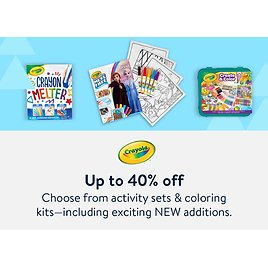 Up To 40% Off Crayola Markers, Crayons & Gift Sets