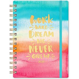 """2021 6.3"""" X 8.4"""" Weekly & Monthly Planner"""