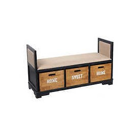 Source Wooden Metal Home Furniture Storage Bench with 3 Wooden Drawer Wooden Shoe Storage On M.alibaba.com