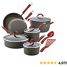 Rachael Ray Cucina Hard Anodized Nonstick For $179.99