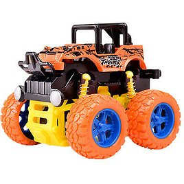 Monster Trucks Friction Powered Car Toy for 2 3 4 5 Year Old Kids Boys Girls