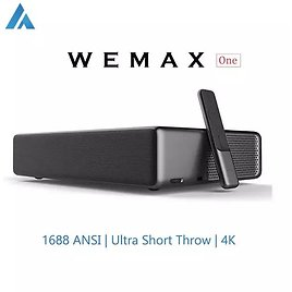 WEMAX ONE Projectors Ultra Short Throw Laser Beamer 1689 ANSI Lumen 1080P FHD WiFi Bluetooth Home Theater Projector Support 4K