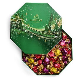 Godiva Holiday G Cube Chocolate Truffle Tin, 50 Piece Set & Reviews - Food & Gourmet Gifts - Dining