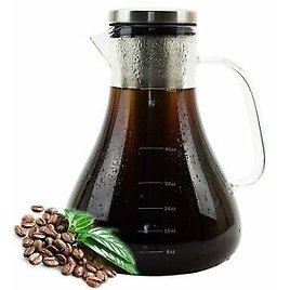 Cold Brew Coffee Maker for Iced Coffee & Tea, 1.5L, With Stainless Steel Filter