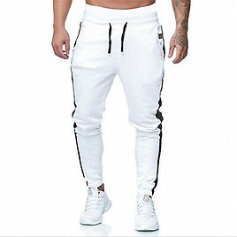Mens Sweatpant Casual Pants Workout Jogger Training Sport Fitness Trousers
