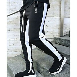 Mens Fitness Trousers Sweatpants Casual Workout Joggers Training Sport Pants
