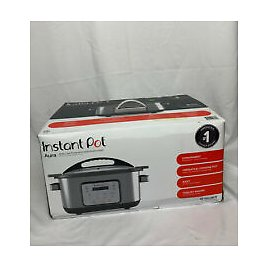 Instant Pot Aura 10-in-1 Multicooker 6Qt Slow Cooker - 10 One-Touch Programs